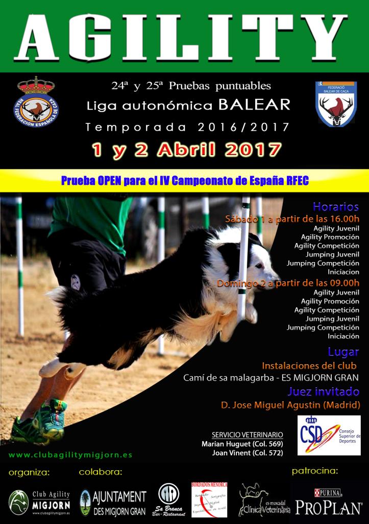 Cartel prueba RFEC MIGJORN Abril 2017