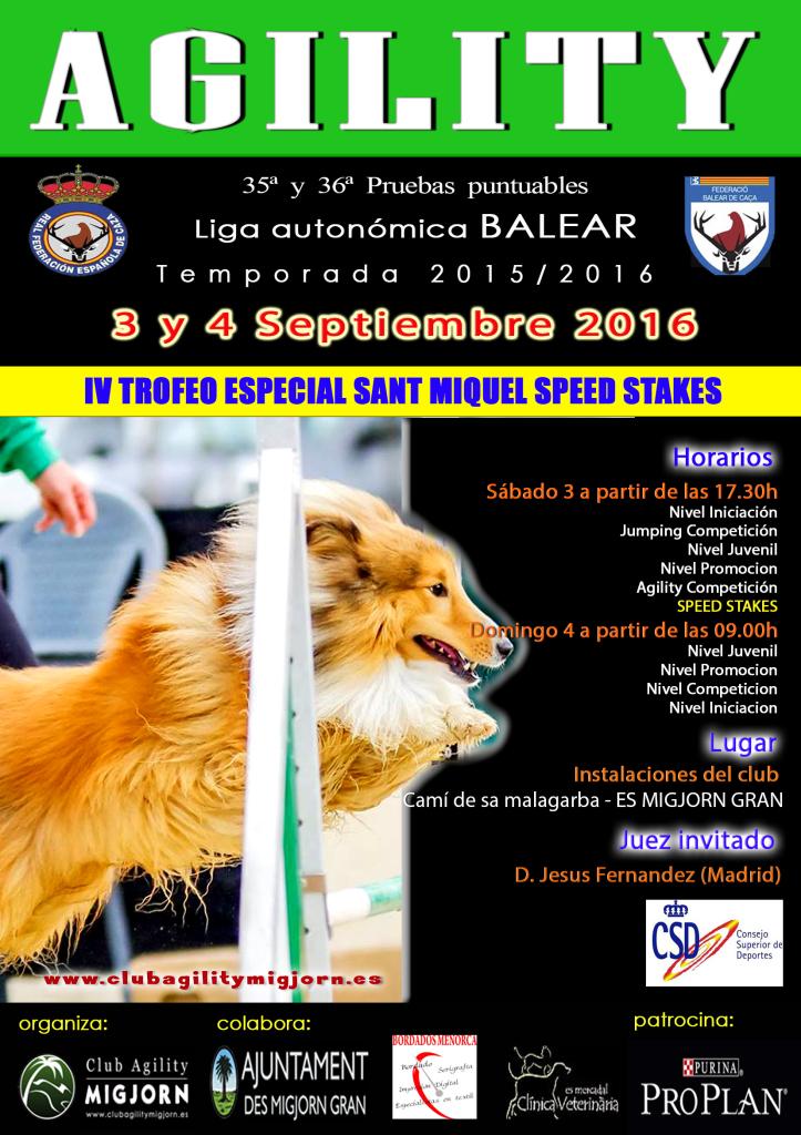 Cartel prueba RFEC MIGJORN Septiembre 2016