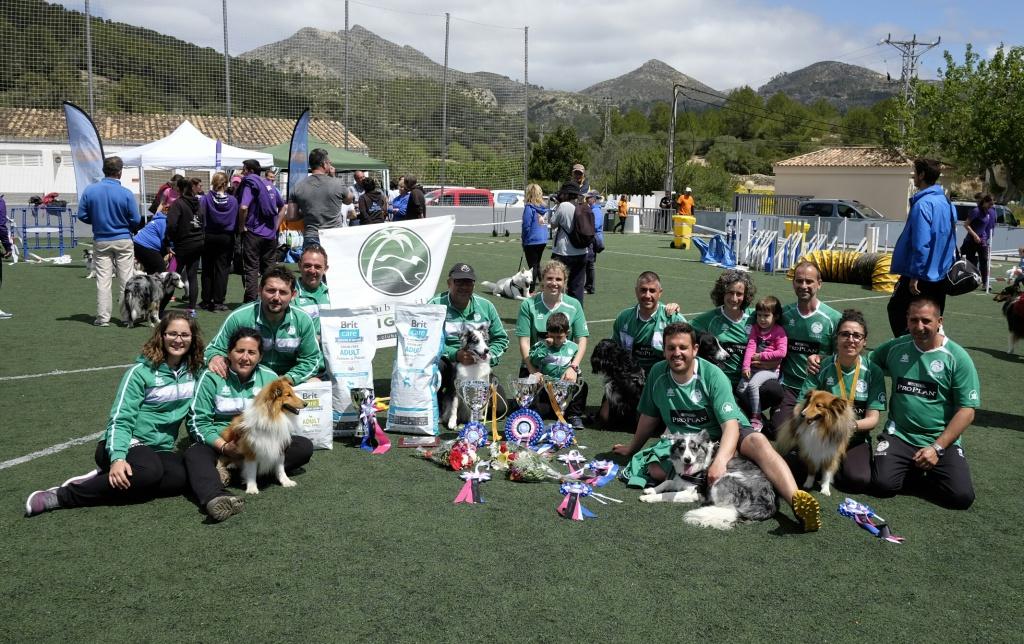 Expedición club Migjorn VII Copa Baleares Agility RFEC
