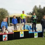 Podium juvenil - Domingo