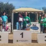Podium nivel competición categoría 40