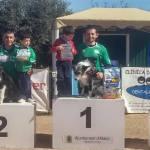 Podium nivel competición categoría 60